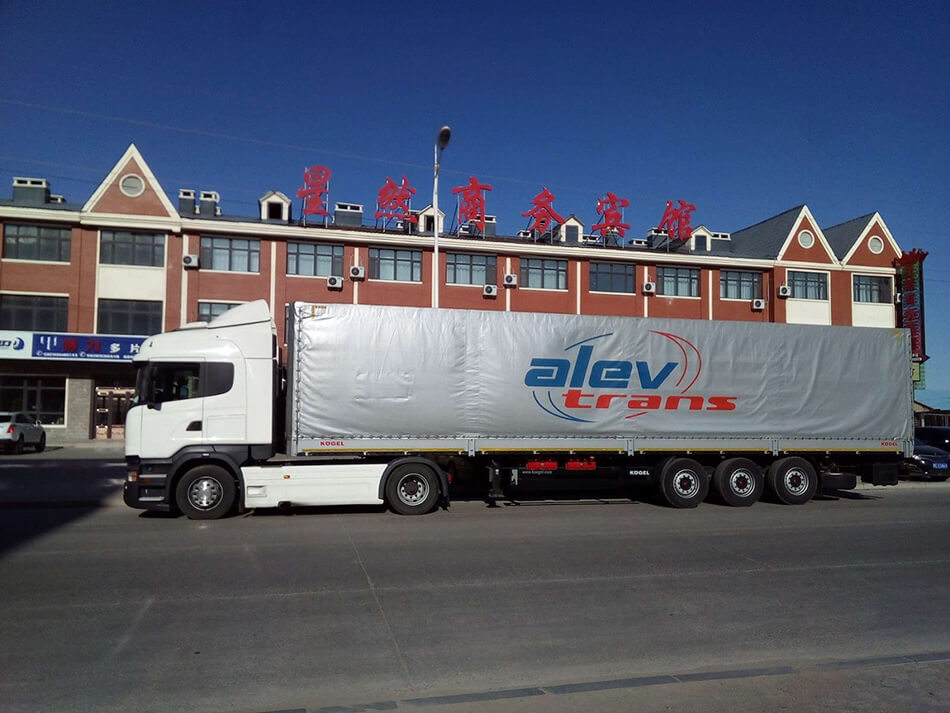 We increase the volume of road transport from China