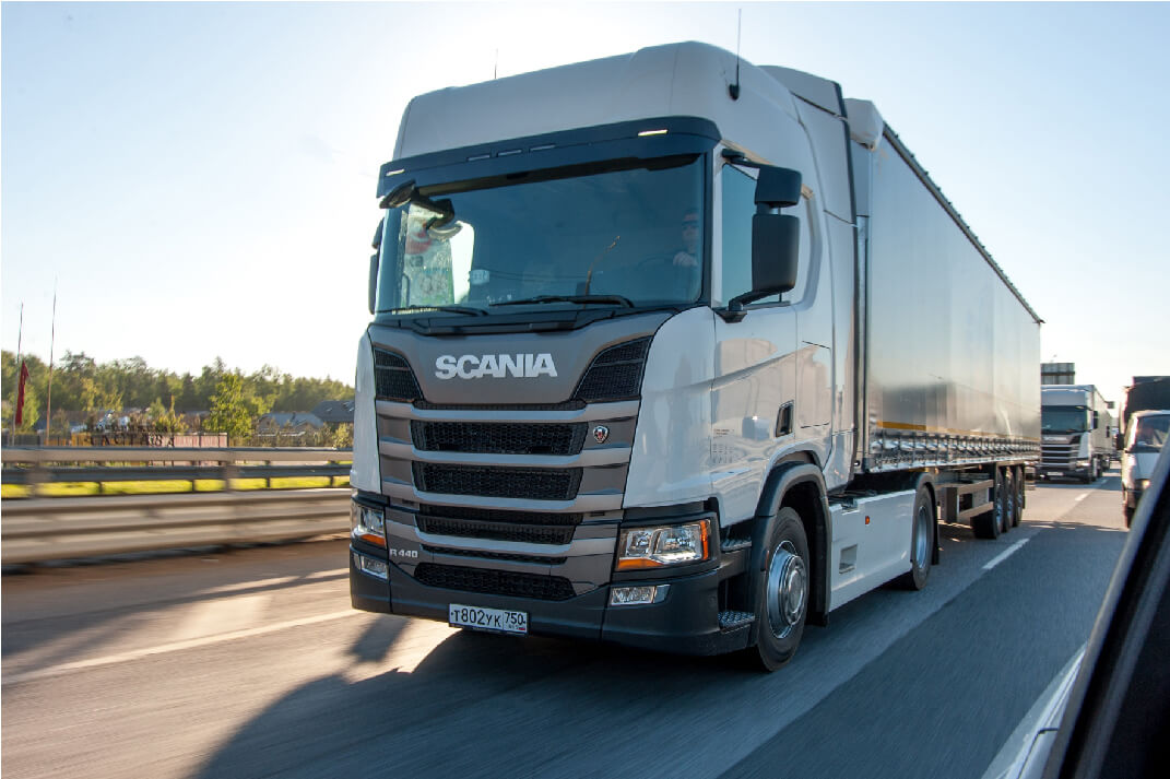 New SCANIA fleet models Alev-Trans